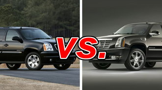 gmc yukon vs cadillac escalade carsdirect. Black Bedroom Furniture Sets. Home Design Ideas