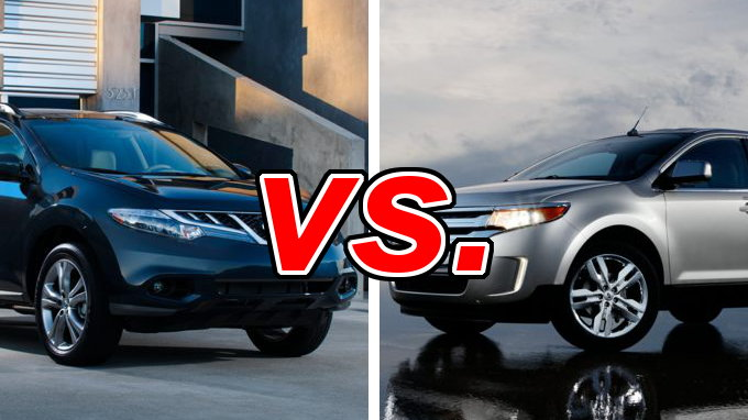 Nissan Murano vs. Ford Edge - CarsDirect