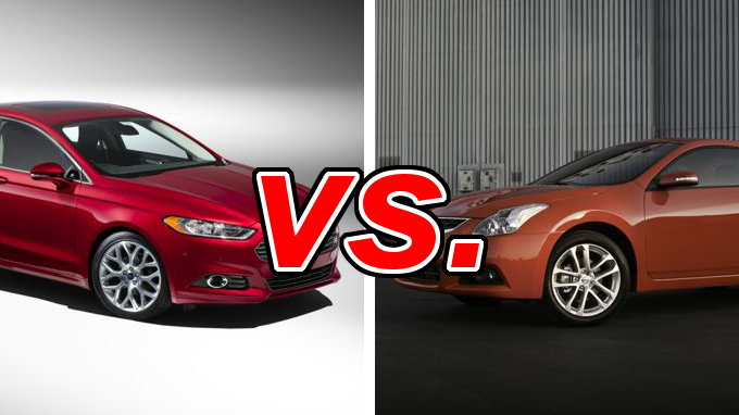 Nissan Altima Build Your Own Nissan Altima vs. Ford Fusion - CarsDirect