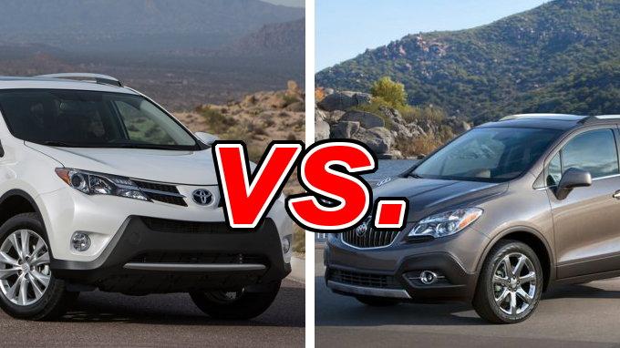 Toyota RAV4 vs. Buick Encore - CarsDirect