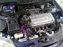 My ek4 b18c powered
