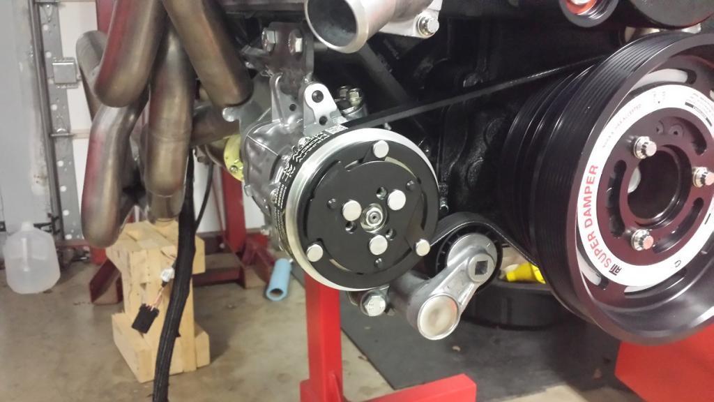 Sanden Ac Compressor Adapter Bracket Ls1tech Camaro - Imagez co