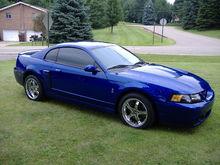 Garage - Blue SVT