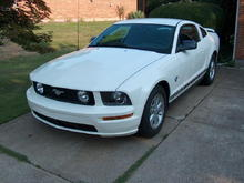 2009 V6 Mustang Coupe