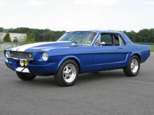 1966 Shelby Mustang Tribute Coupe