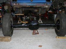 rear axle after