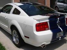 Dual GTA exhaust