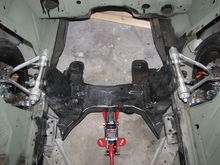 C4 front Suspension swap