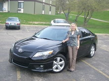 Me and my 2011 Camry!
