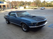 "1969 Mustang Convertible - ""Christine"""