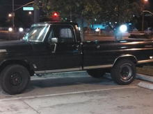 a night on the town with the F100