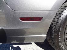 Tinted Rear Marker Light