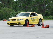 First SCCA Race