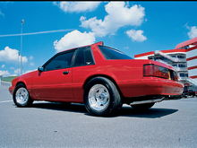 1987 ford mustang notchback