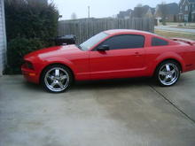 08 Torched Red with 20's