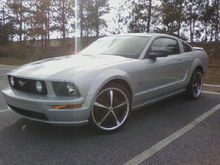 """20"""" Shelby CS69 with Sumitomo tires! 255/35/20 up front and 285/30/20 out back!"""