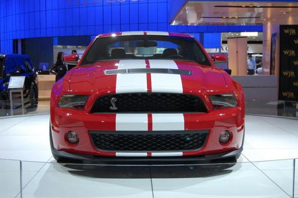 2010 Ford Mustang Shelby GT500 Front Square