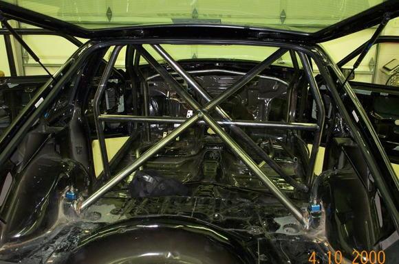 Wolfcraft Racing Cage by installed by Jim Powski, Brighton, MI www.jim-powski.com
