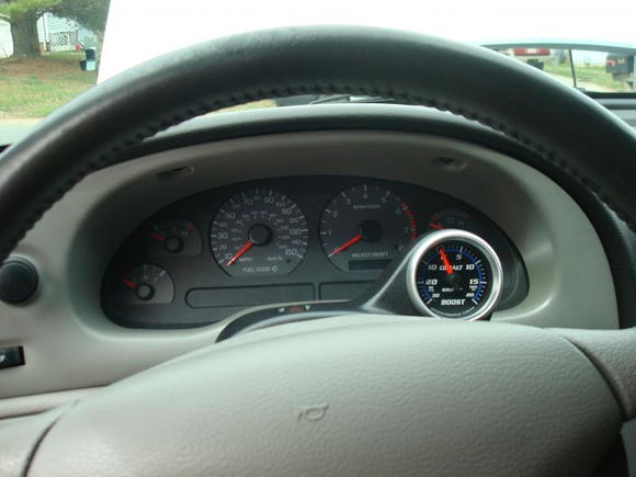 Cobalt Boost Gauge