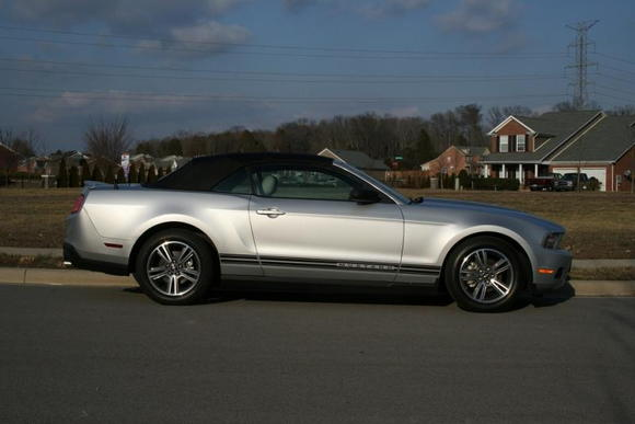 2010 Mustang Convertible