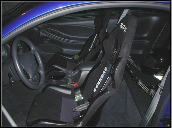 Sparco race seats.