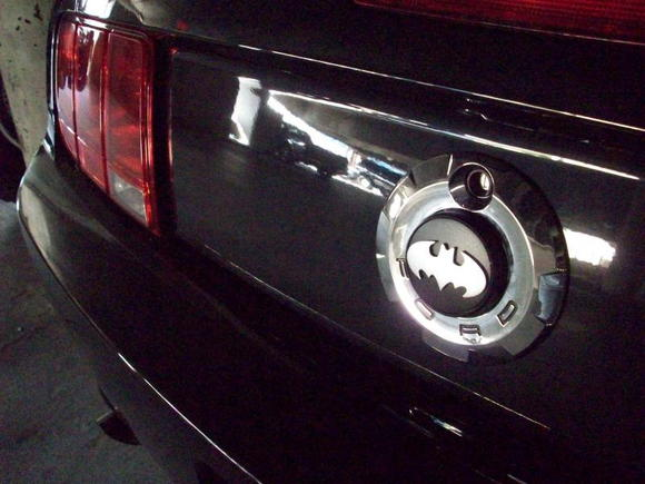Batman Rear Badge
