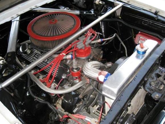 Engine bay ....clean.