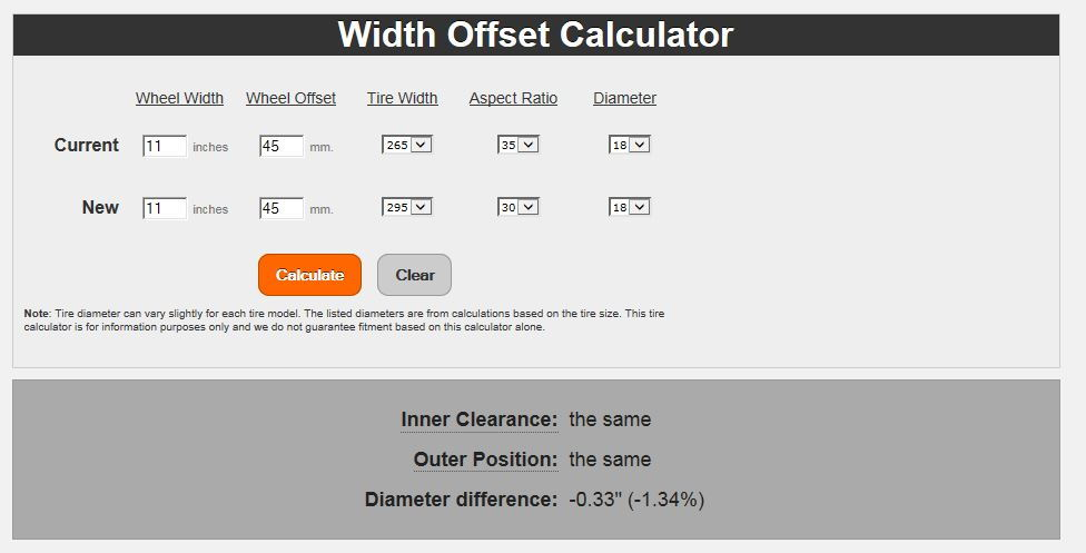 Tire Plus Sizing Calculator >> Changing Tire Size On 2013 F150   Autos Post
