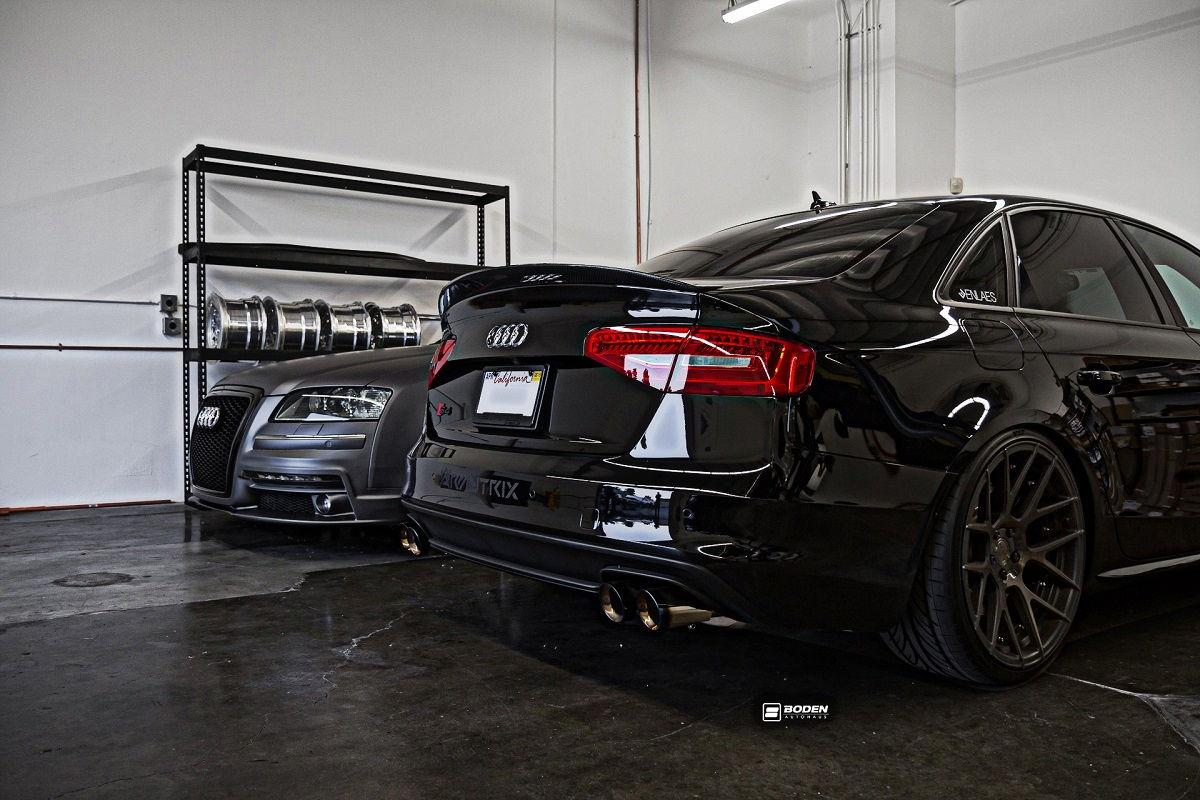 Dark Vader Audi S4 B8 5 With Armytrix F1 Edition Catback