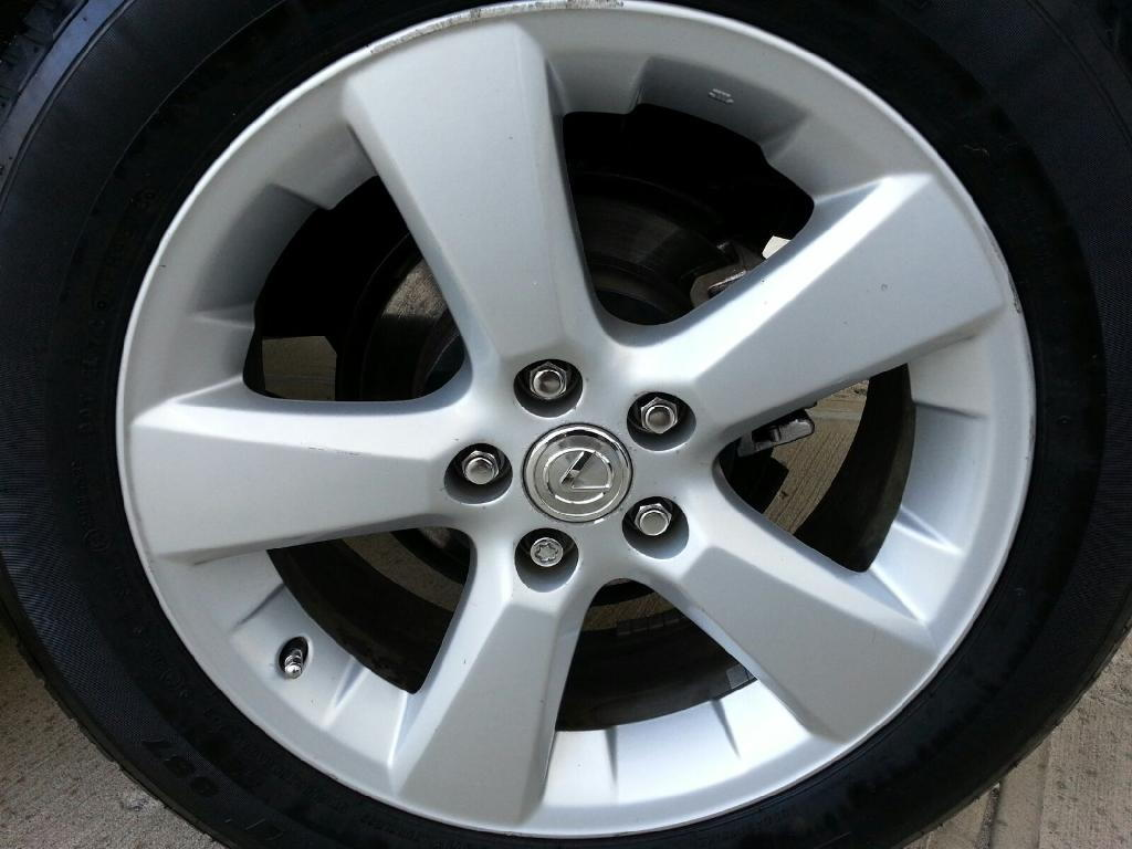 ny fs 2004 rx 330 rims with tires for sale club lexus forums. Black Bedroom Furniture Sets. Home Design Ideas
