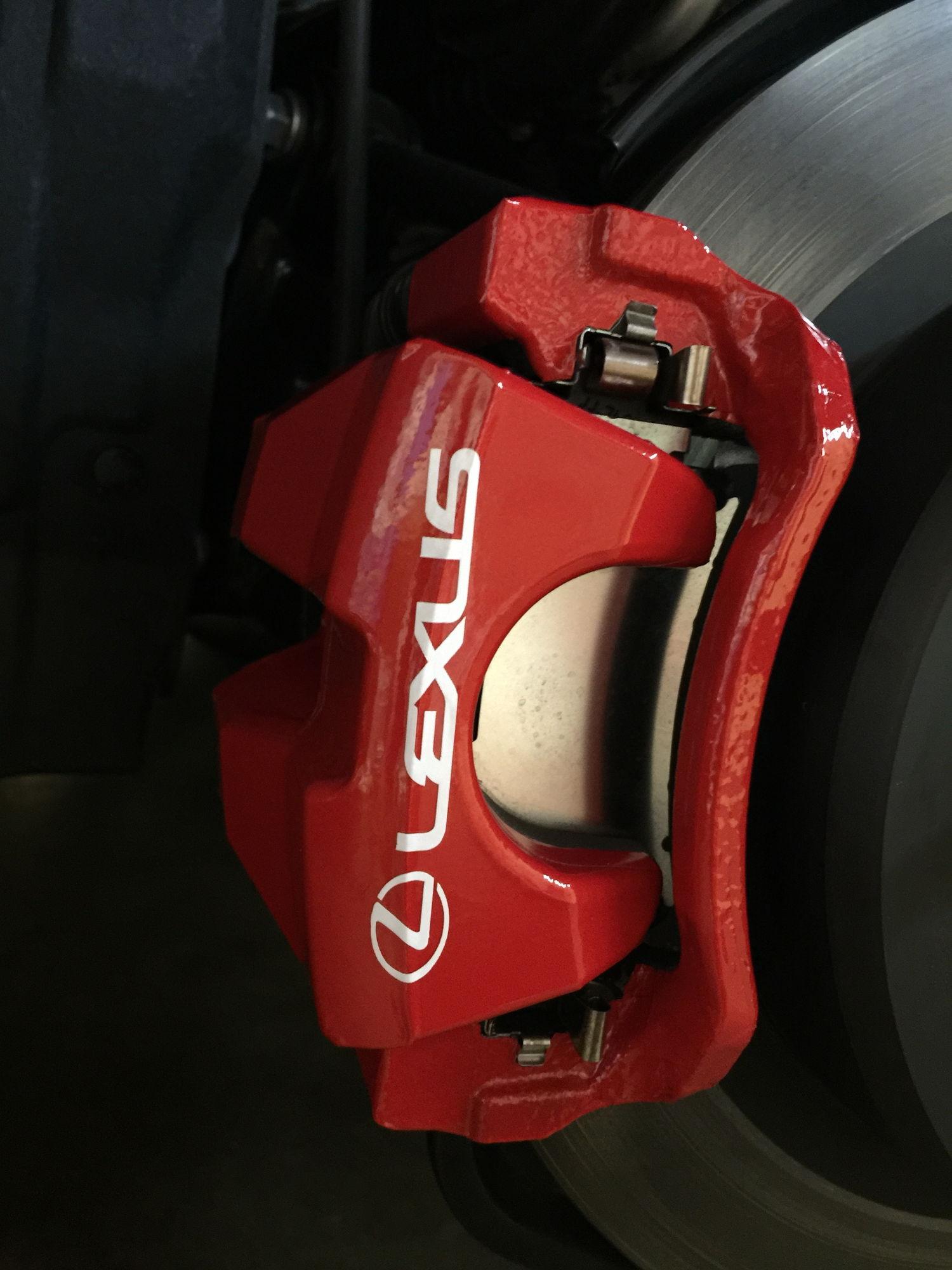 3m Reflective Red Brake Caliper Vinyl Wrap Club Lexus Forums