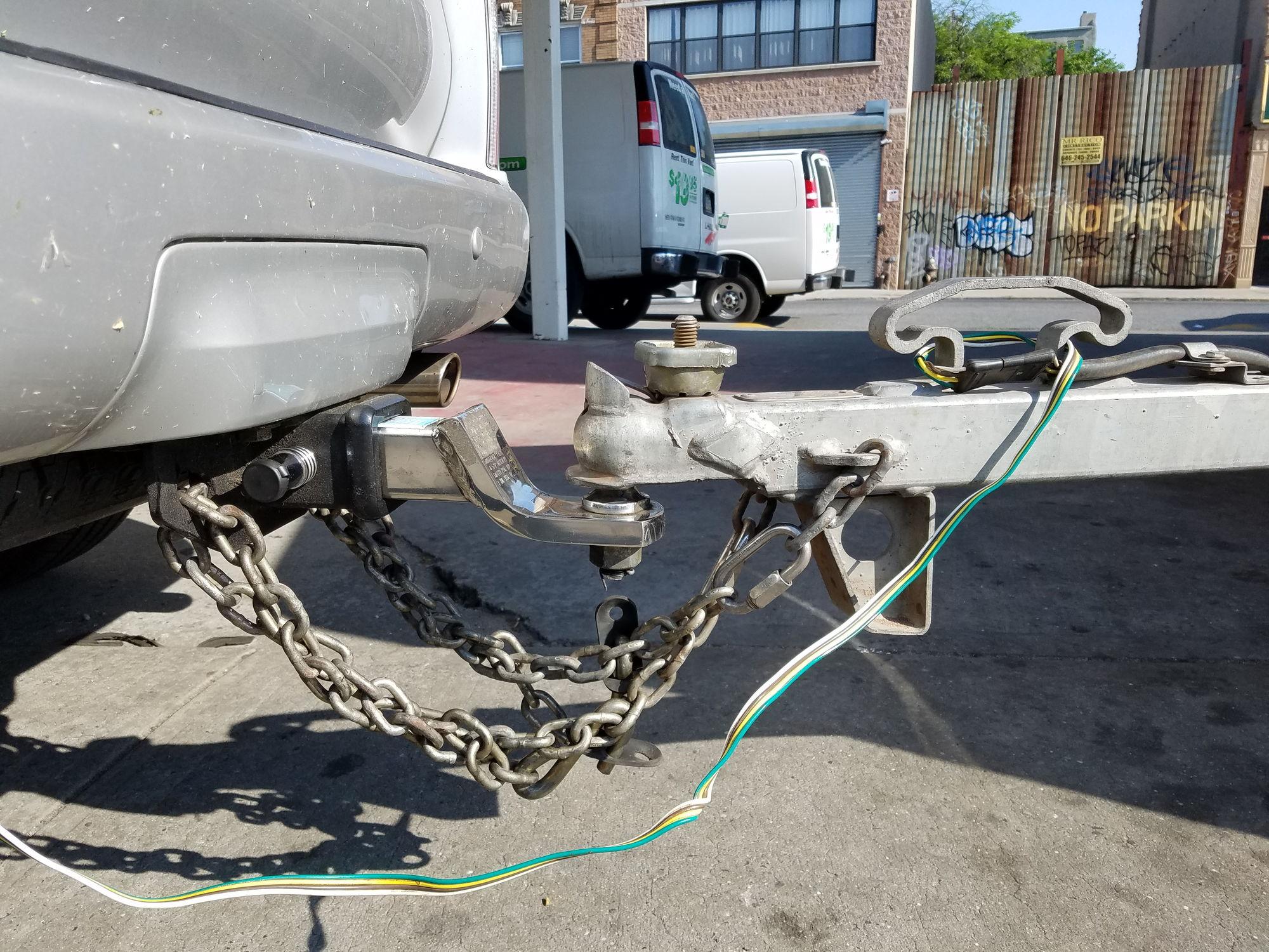 on u haul trailer hitch wiring harness