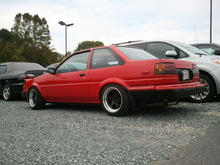 My AE86 I built with my bare hands....miss her too......