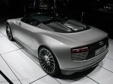 Audi e tron Spyder rear
