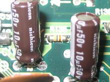 Nichicon 10 microfarad