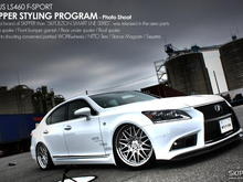 Lexus LS460 F-SPORT.