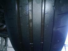 Right front Michelin PSS OEM size