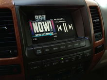 GROM VLine Lexus Infotainment System in Lexus - music media screen