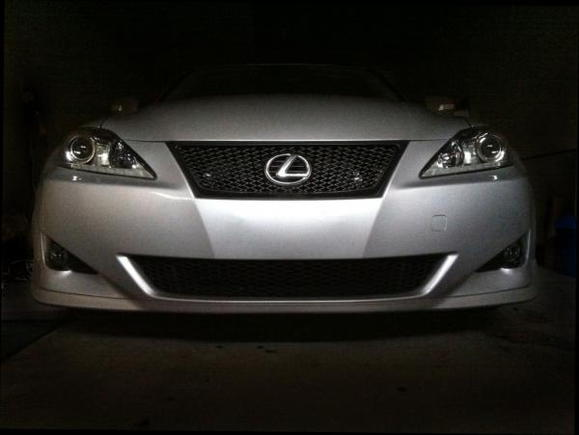 2012 Headlights with black fogs
