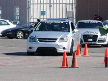 Lined up ahead of the National Champion in 2011 SCCA in New Mexico.