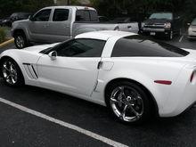 my corvette and Tacoma