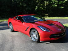 2014 Corvette Stingray (Naked)