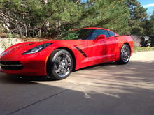 2014 C7 Torch Red 1LT