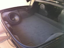 custom fiberglass subwoofer box