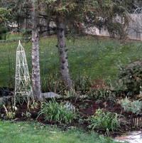Compost spread for winter