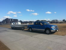 2014 F-150 Screw - Blue Lightning