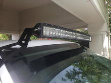 side view of my curved totron light bar