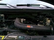 Dirty engine bay