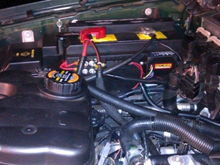 Motorcraft Efans Installed