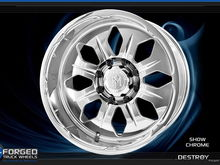 Destroy wheel in Chrome finish